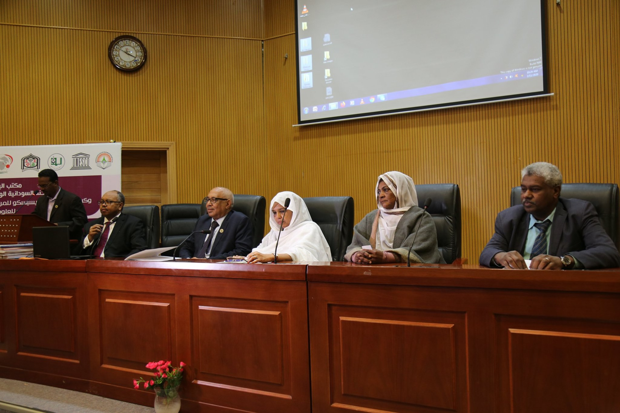 The Minister of Higher Education Addresses Sudan University Celebration of the International Day of Women and Girls in Science and Technology