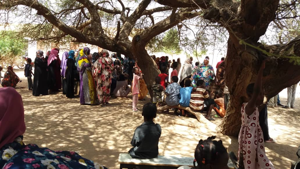 An Awareness Day in the Shegailab Women's Camps